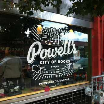 Photo of Powell's Books on Hawthorne in Portland