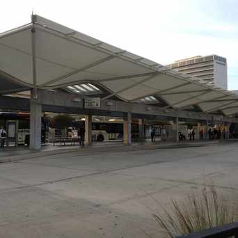 Photo of TMC Transit Center in Houston