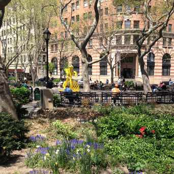 Photo of Beach Street Park in Tribeca, New York