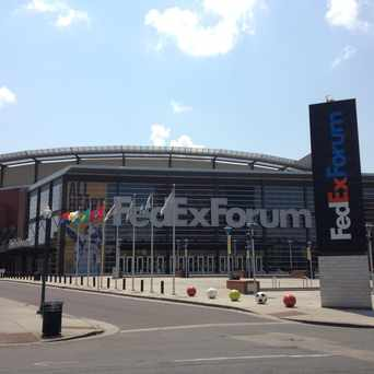 Photo of FedExForum in Memphis