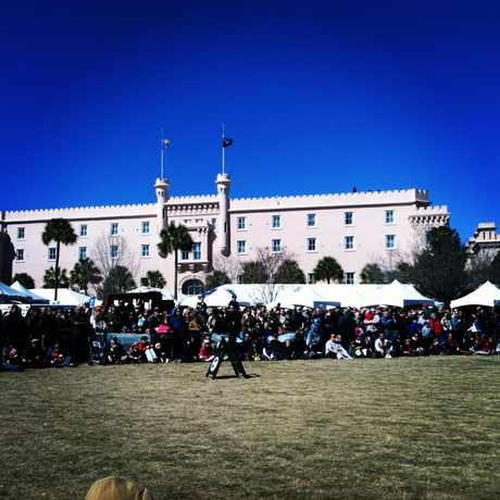 Photo of Marion Square in Charleston