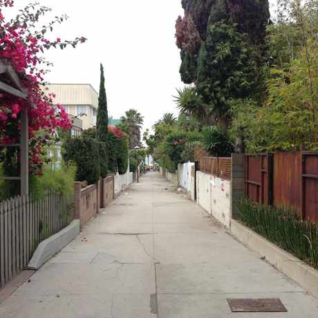 Photo of Dudley street in Venice, Los Angeles