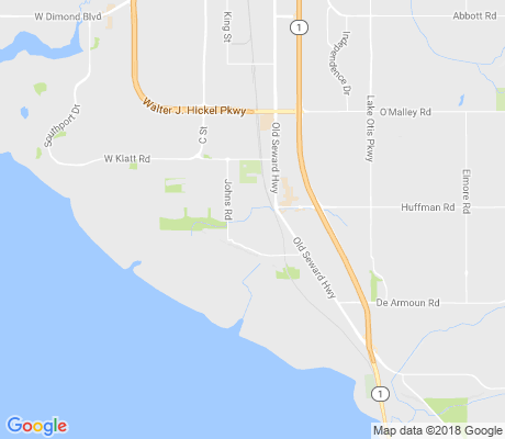 map of Oceanview North apartments for rent