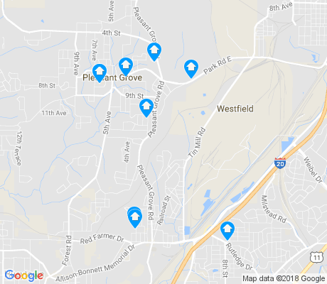 map of Dolomite apartments for rent