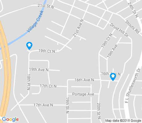 map of Druid Hills apartments for rent