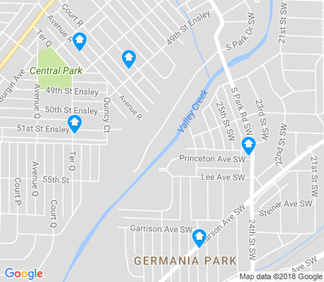 map of Germania Park apartments for rent