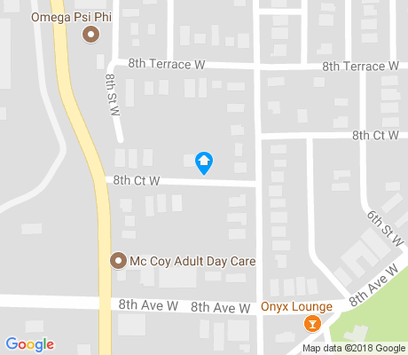 map of Graymont apartments for rent
