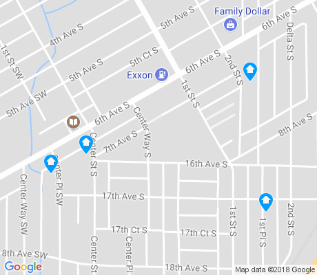map of North Titusville apartments for rent
