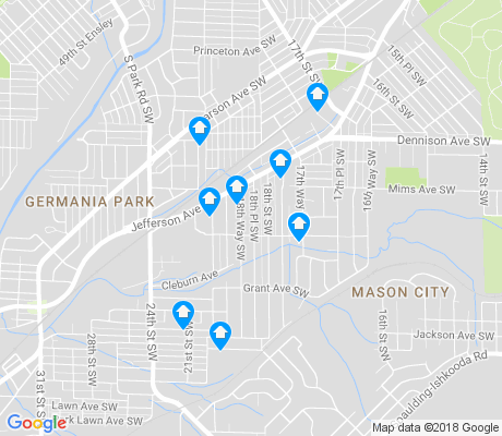 map of West End Manor apartments for rent
