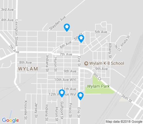 map of Wylam apartments for rent