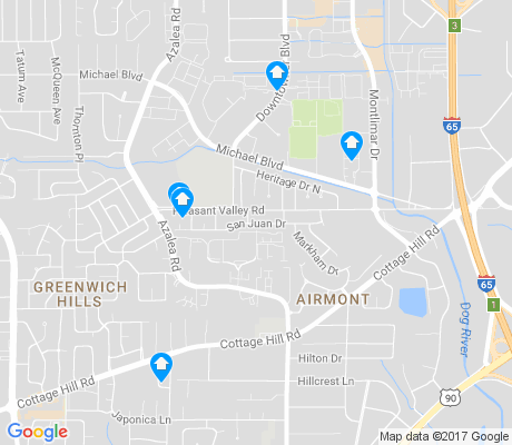 map of Airmont apartments for rent