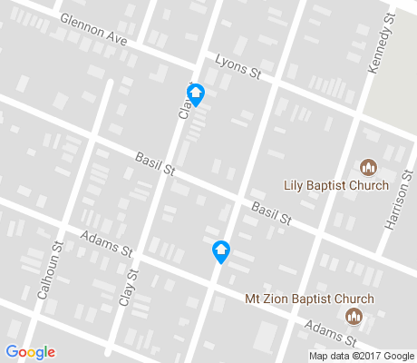 map of Fisher apartments for rent
