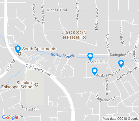 map of Jackson Heights apartments for rent