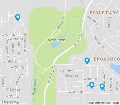 map of Boyle Park apartments for rent