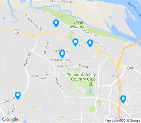 map of River Mountain apartments for rent