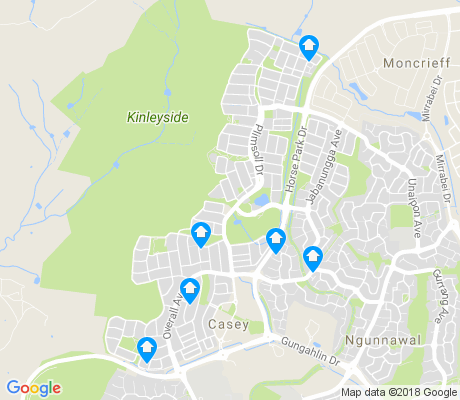 map of Casey apartments for rent