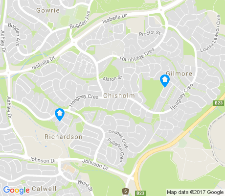 map of Chisholm apartments for rent
