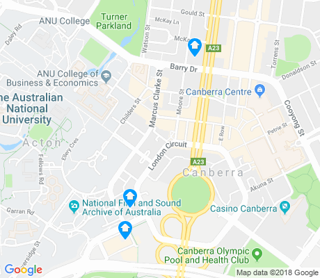 map of City apartments for rent