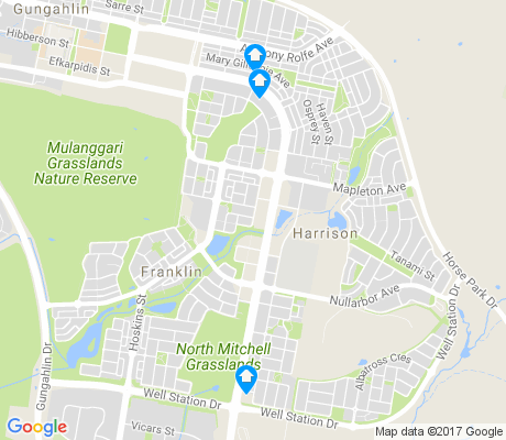 map of Franklin apartments for rent