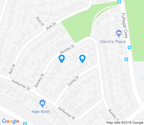 map of Higgins apartments for rent