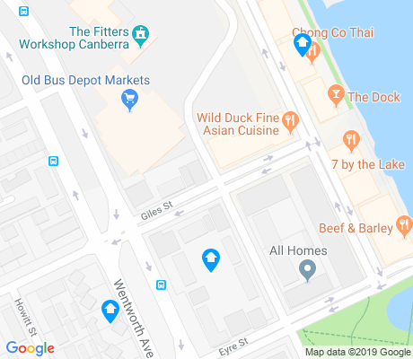 map of Kingston apartments for rent