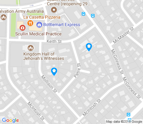 map of Scullin apartments for rent