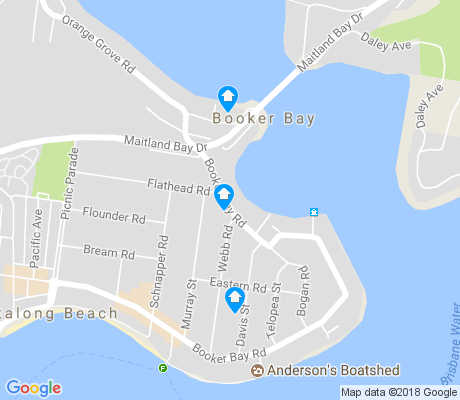 map of Booker Bay apartments for rent