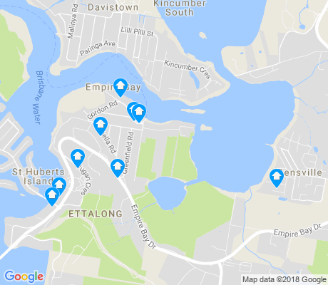 map of Empire Bay apartments for rent