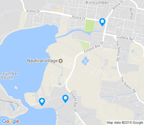 map of Kincumber apartments for rent