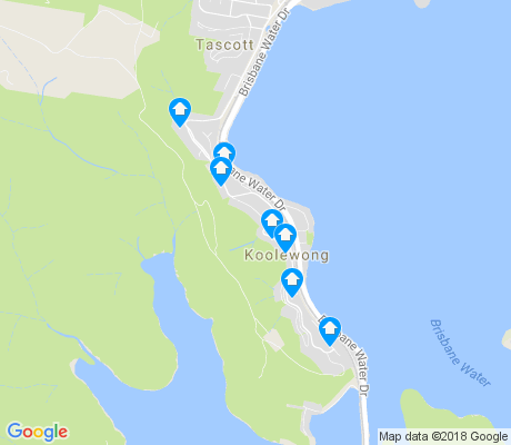 map of Koolewong apartments for rent