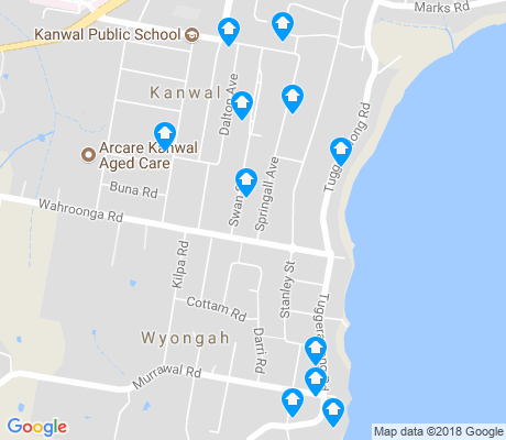 map of Wyongah apartments for rent