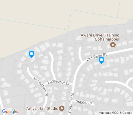 map of North Boambee Valley apartments for rent