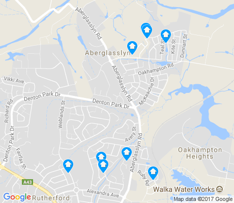 map of Oakhampton apartments for rent