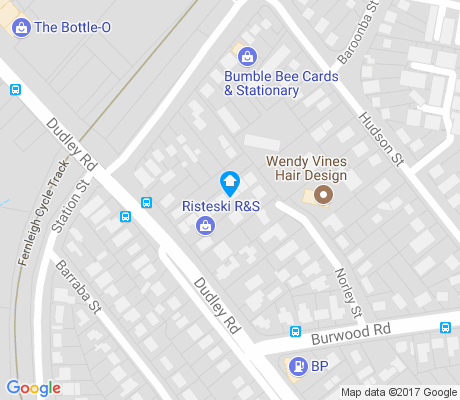 map of Dudley apartments for rent