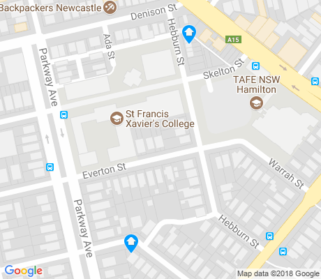 map of Hamilton East apartments for rent