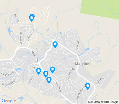 map of Maryland apartments for rent