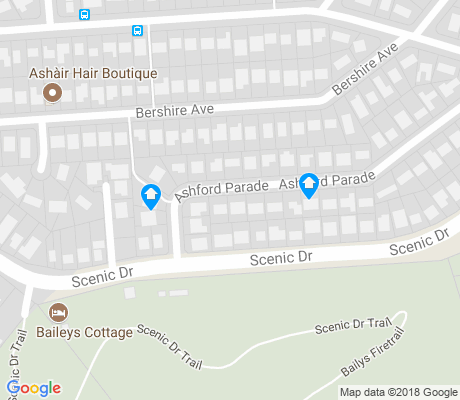 map of Merewether Heights apartments for rent