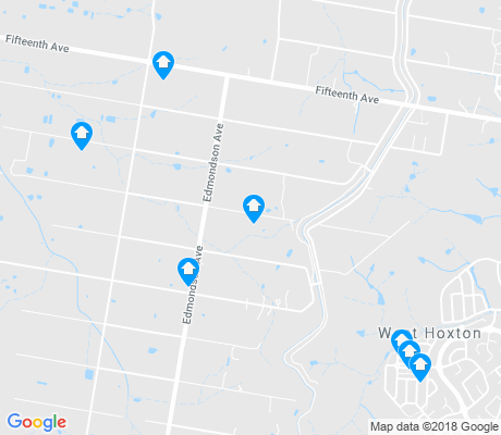 map of Austral apartments for rent
