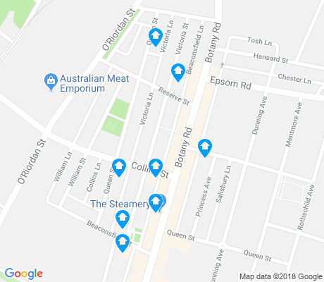 map of Beaconsfield apartments for rent