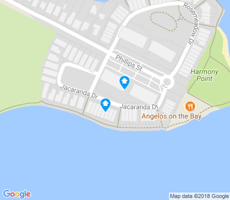 map of Cabarita apartments for rent