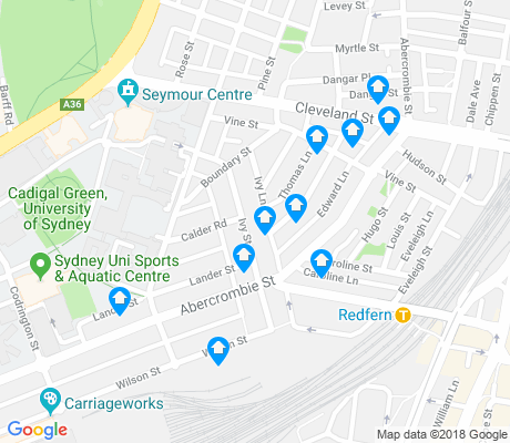 map of Darlington apartments for rent