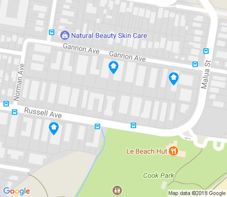 map of Dolls Point apartments for rent