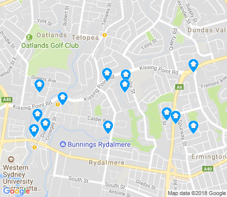 map of Dundas apartments for rent