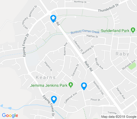 map of Kearns apartments for rent