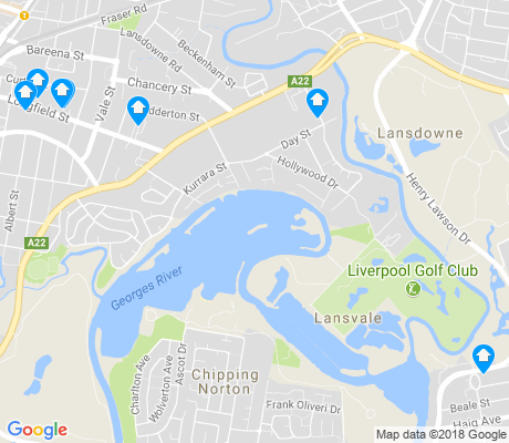 map of Lansvale apartments for rent