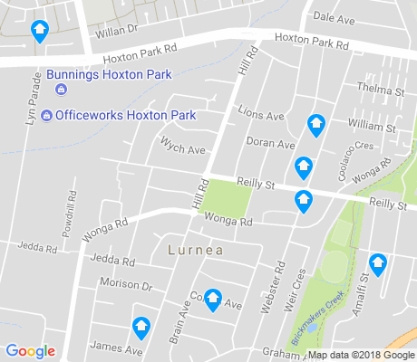 map of Lurnea apartments for rent