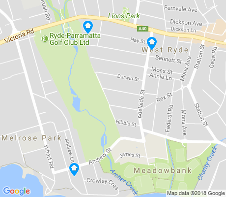 map of Melrose Park apartments for rent