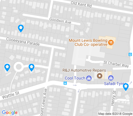 map of Mount Lewis apartments for rent