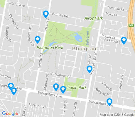 map of Plumpton apartments for rent