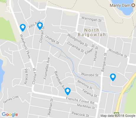 map of Seaforth apartments for rent